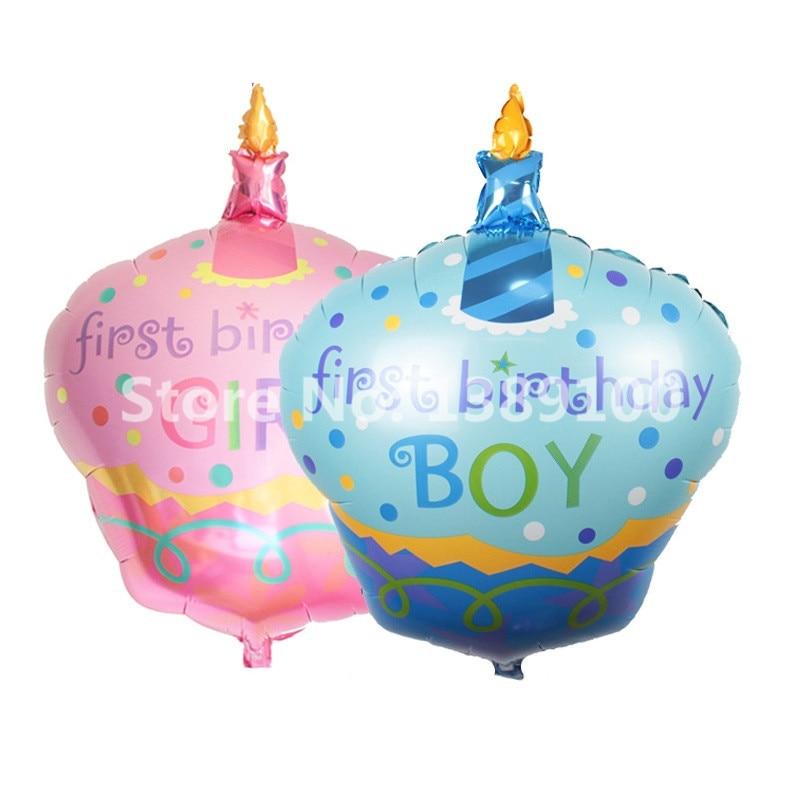 1pcs Baby Boy Baby Girls Big Cake Happy Birthday Large