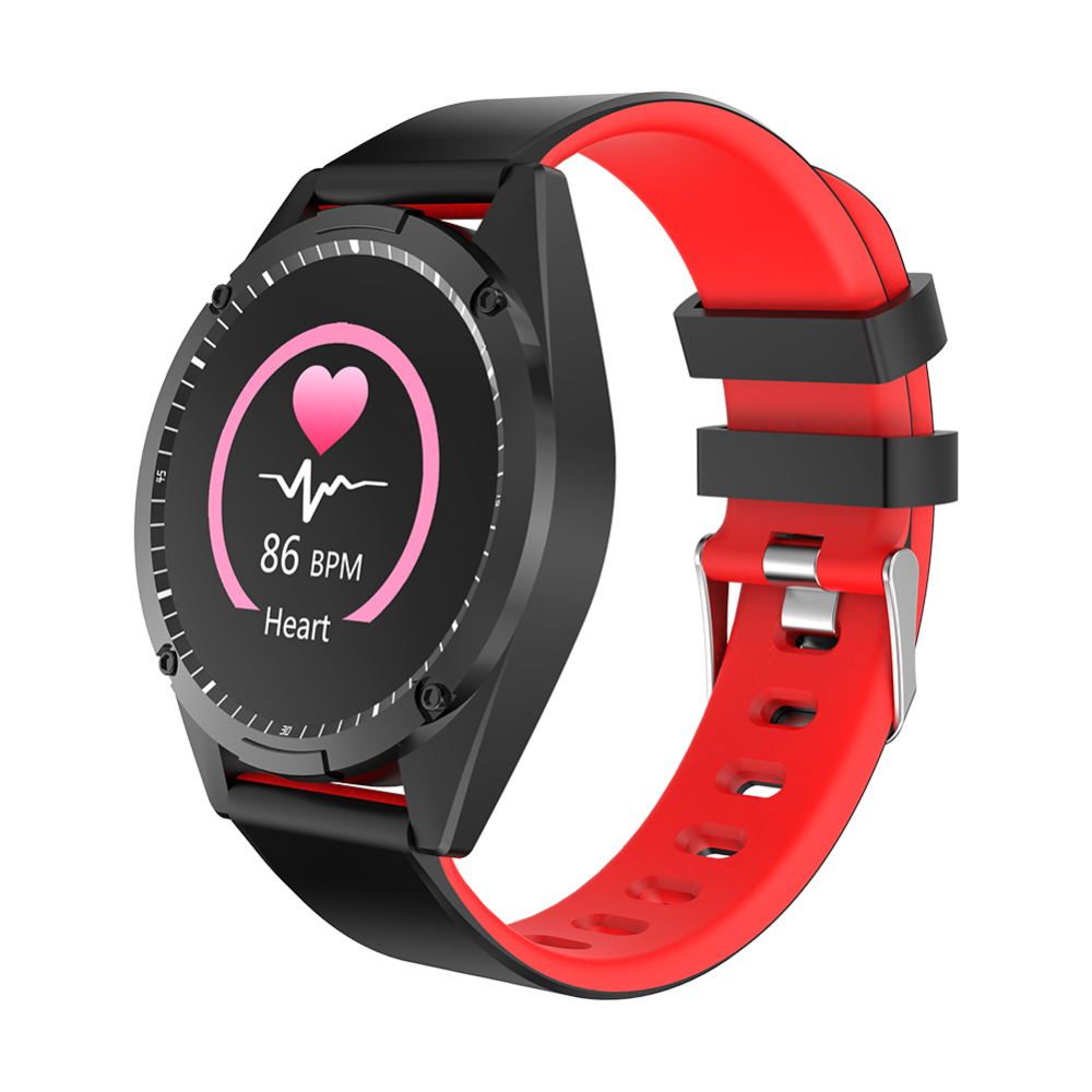 IP67 Waterproof Message Push Blood Pressure Monitor Call Reminder Smart Bracelet Men Heart Rate Sport Smartwatch For Android
