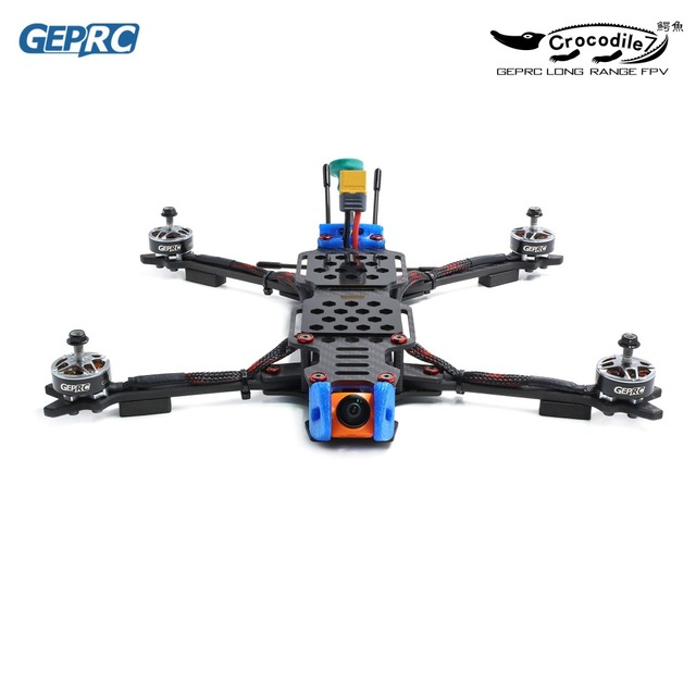 GEPRC Crocodil GEP LC7 PRO/GEP LC7 1080 315mm 7 Inch RC FPV Racing Drone Betaflight F4 50A Runcam Swift RC Drones FPV Quadcopter