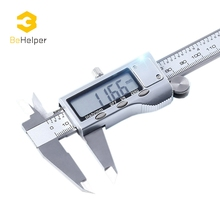Promo offer BeHelper 150mm Metal Stainless Steel Electronic LCD Digital Vernier Caliper Accuracy 0.01mm Micrometer Measurement Tools