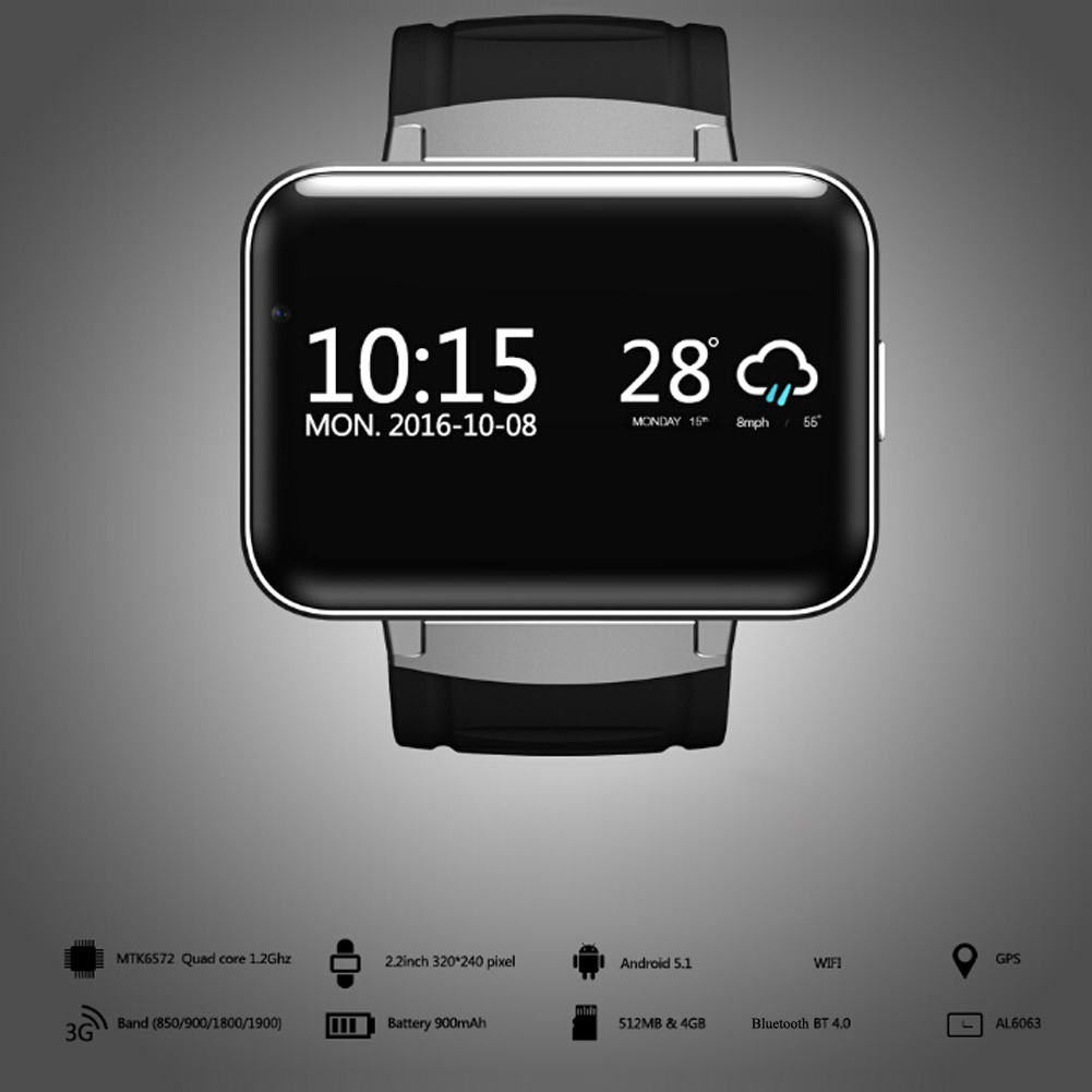 DM98 <font><b>Smart</b></font> Watch Fitness Tracker Wristband Watch Android <font><b>System</b></font> GPS WIFI <font><b>Smart</b></font> Phone Watch For Mobile Phones