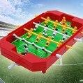Мини-детский настольный футбол машины 4 полюс настольные игрушки игры в Футбол Настольный Футбол Мяч для Домашних развлечений партии