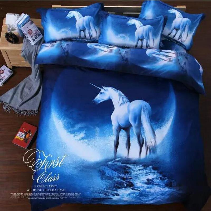 Popular Unicorn Bedding Set Buy Cheap Unicorn Bedding Set