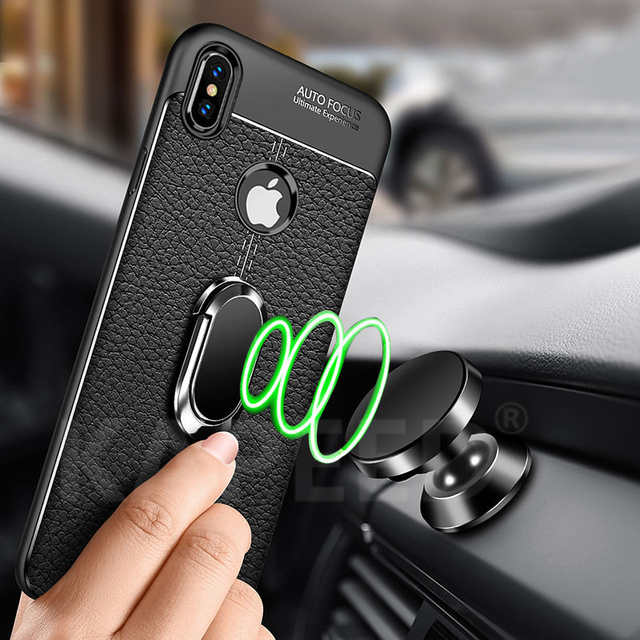 iPhone Xs Max Magnetic Ring Case 1
