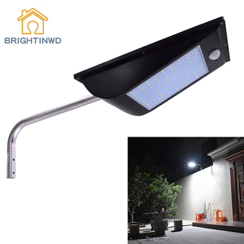 Outdoor IP65 Solar Street Light 1000 Lumen 81 LED Integrated Motion Sensor Solar Lamps Garden Decoration Solar Light