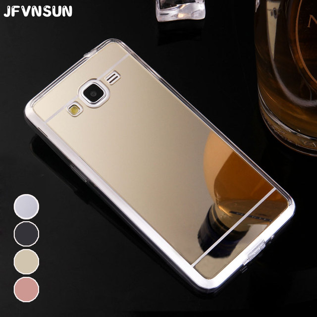 For Samsung J2 Prime Case Mirror Plating SAMSUNG Galaxy G532 Cover Luxury