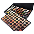 120 Cores Da Moda Sombra Creme Para Os Olhos Sombra Palette Kit Maquiagem 3 Camadas Opcionais