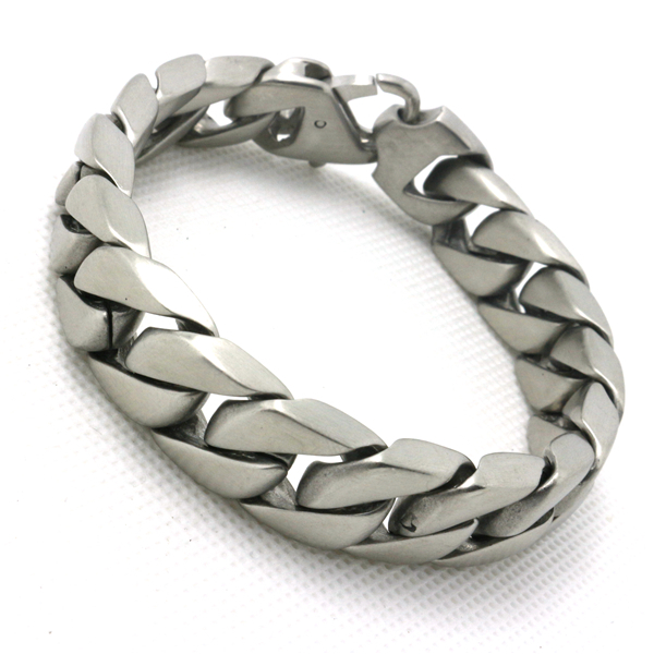 Newest Design Unisex 316l Stainless Steel Cool Dull Polish