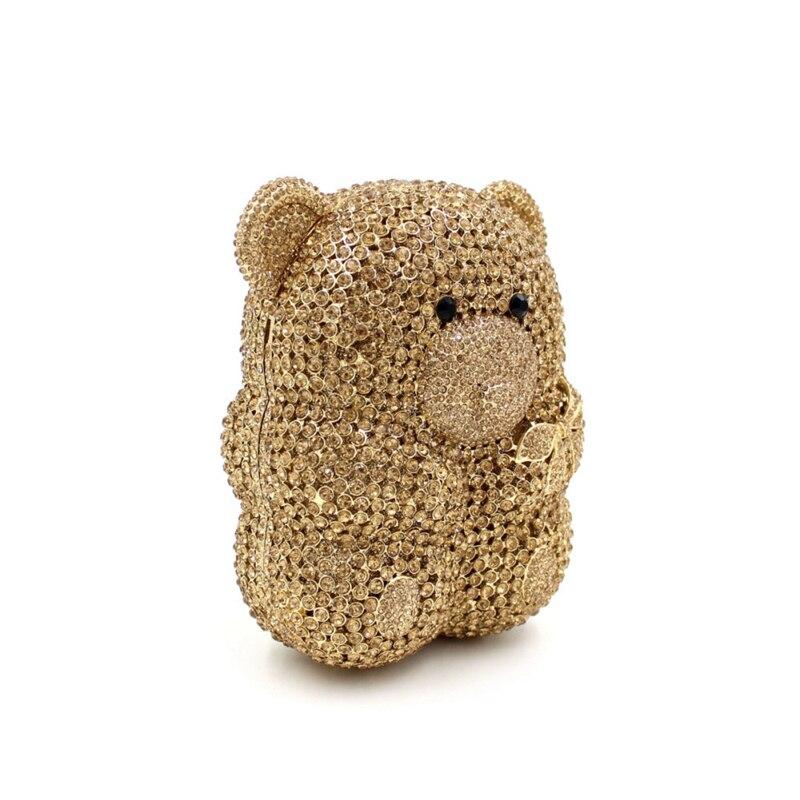 2017 Vraiment D'embrayage Bags Cristal Main Dîner Panda Élégant Événement Parti De Spécial Ours Offre Femmes Bourse Soirée Smyzh Sacs Conception bags e0209 44wqSAr