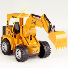 Remote Control 1:24 2.4G RC Cars Toys Engineering Vehicles Truck Dump Cars Tipper Multi-function Diecast Alloy Toys For Children
