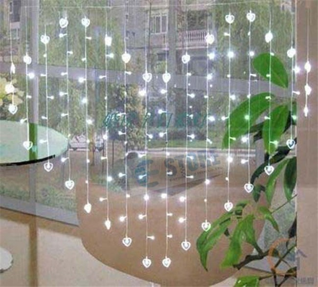 Aliexpress Com Romantic Heart Love Wedding Decorations 1 5m X 128pcs 16w Led Fairy String Lights From Reliable Light Outdoor Suppliers On