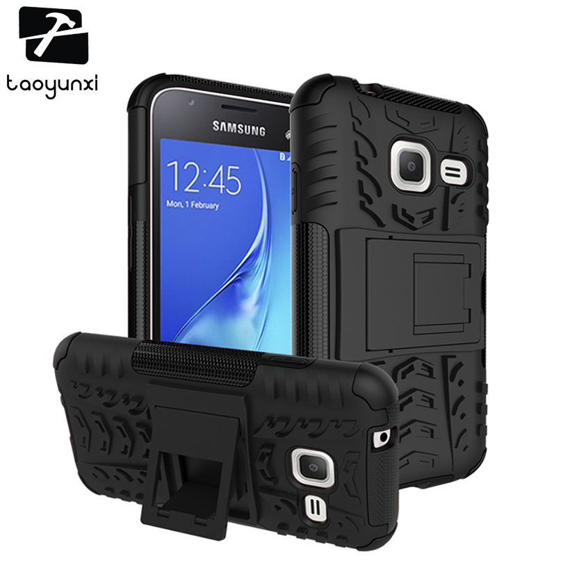 TAOYUNXI Phone Case Cover For <font><b>Samsung</b></font> <font><b>Galaxy</b></font> <font><b>J1</b></font> Nxt <font><b>J1</b></font> <font><b>MiNi</b></font> <font><b>2016</b></font> J105 4.0inch <font><b>SM</b></font>-J105F DS Duos 4G LTE <font><b>J105H</b></font> Case 2 In 1 Hybrid image