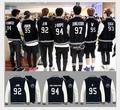 bts kpop Bangtan Boys k pop bigbang hoodie Bulletproof youth club Bangtan Boys bts who served A.R.M.Y baseball uniform coat EXO