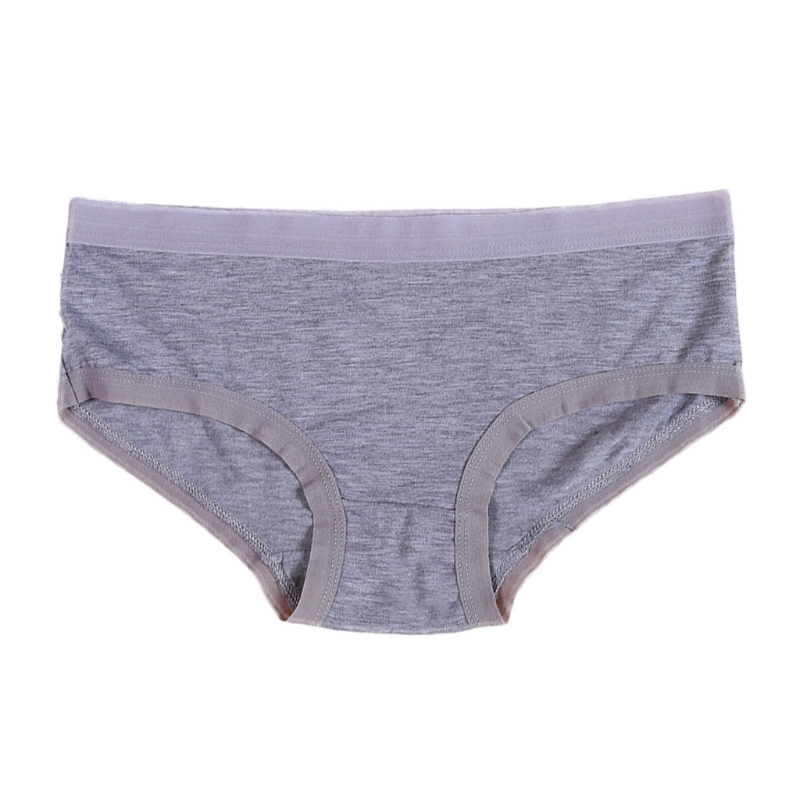 Women Candy Color Casual Underwear Bamboo Fiber Briefs Seamless Panties Modal Underwears W15