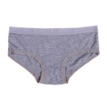 Underwear Panties Briefs Bamboo Seamless Women W15 Fiber Modal Candy-Color Casual
