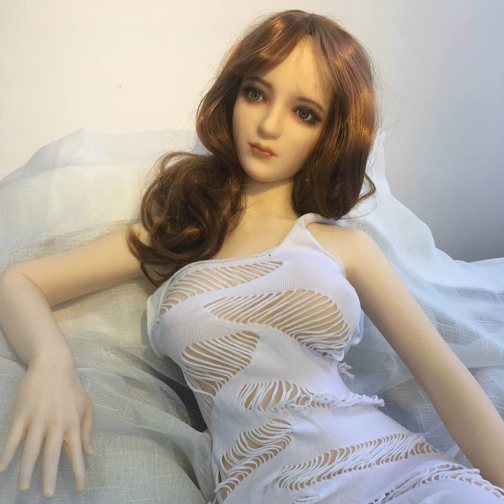 Real Silicone <font><b>Sex</b></font> <font><b>Dolls</b></font> Realistic Vagina Toys for Men Lifelike Real Anime <font><b>Sex</b></font> <font><b>Doll</b></font> Full Size Silicone with Skeleton <font><b>100cm</b></font> image