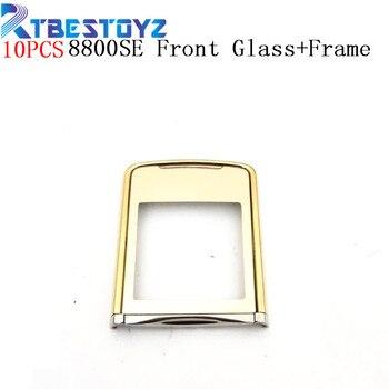 74ae64af4c7 RTBESTOYZ 10 unids/lote nueva pantalla de cristal frontal LCD lente exterior  con marco para
