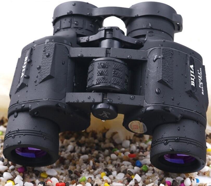 Recommend BIJIA Binocular 16X45 Nitrogen Waterproof Telescope Non-infrared Night Vision Binocular for hiking/travelling 1000M 12x42 binocular telescope night vision high resolution non infrared waterproof anti fog case strap outdoor travel telescop