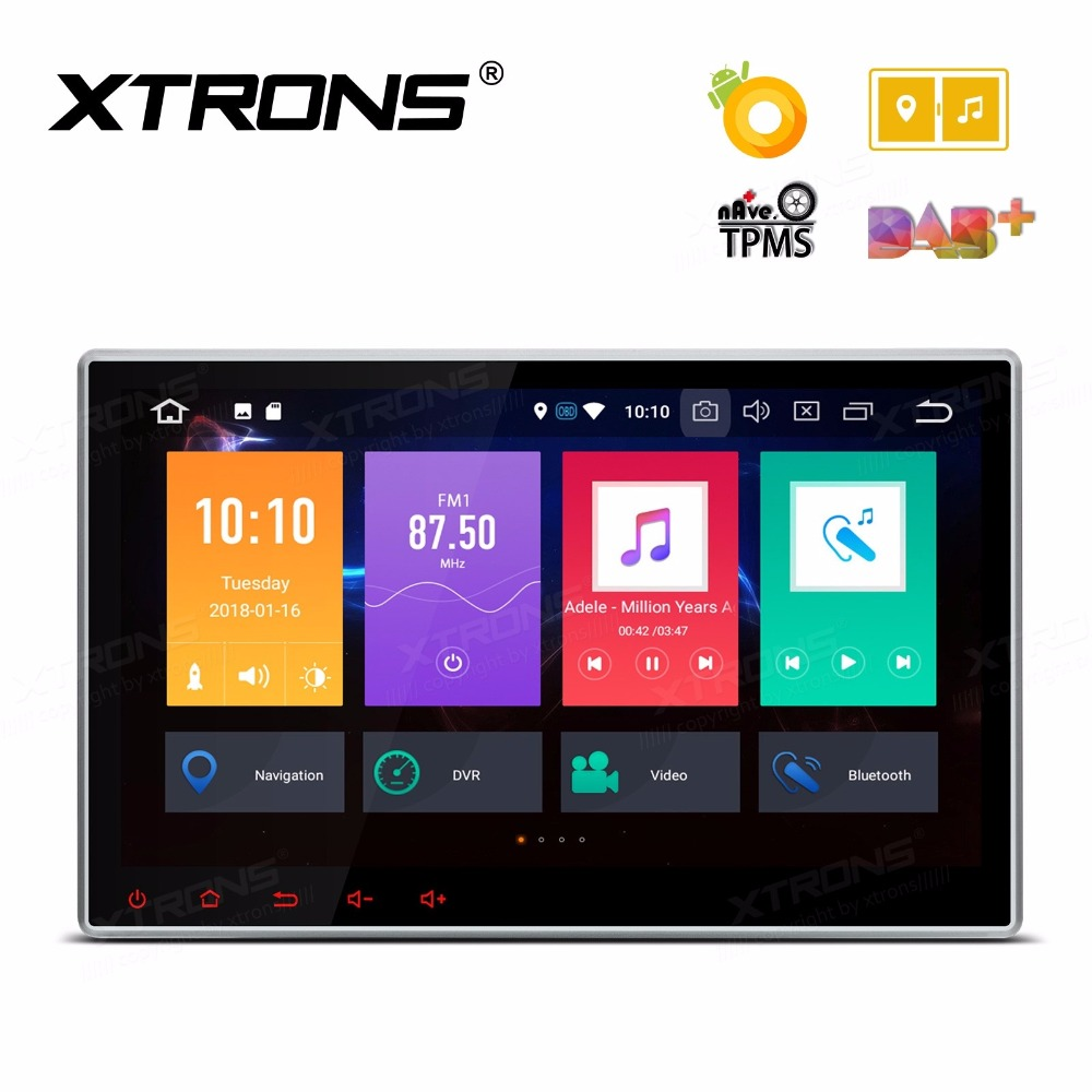 10.1 Octa-Core Android 8.0 OS 2 Din Car DVD Multimedia Two Din Car Navigation GPS Double Din Car Radio with 4GB RAM 32GB ROM image