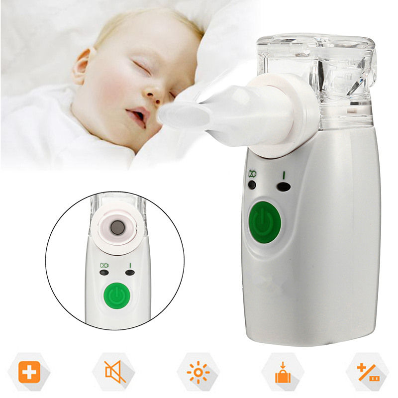 Ultrasonic Handheld Atomizer Nebuliser Beauty Tool Respirator Humidifier Adult Kit Portable Automizer Inhale Nebulizer Portable ultrasonic handheld atomizer nebuliser beauty tool respirator humidifier adult kit portable automizer inhale nebulizer portable