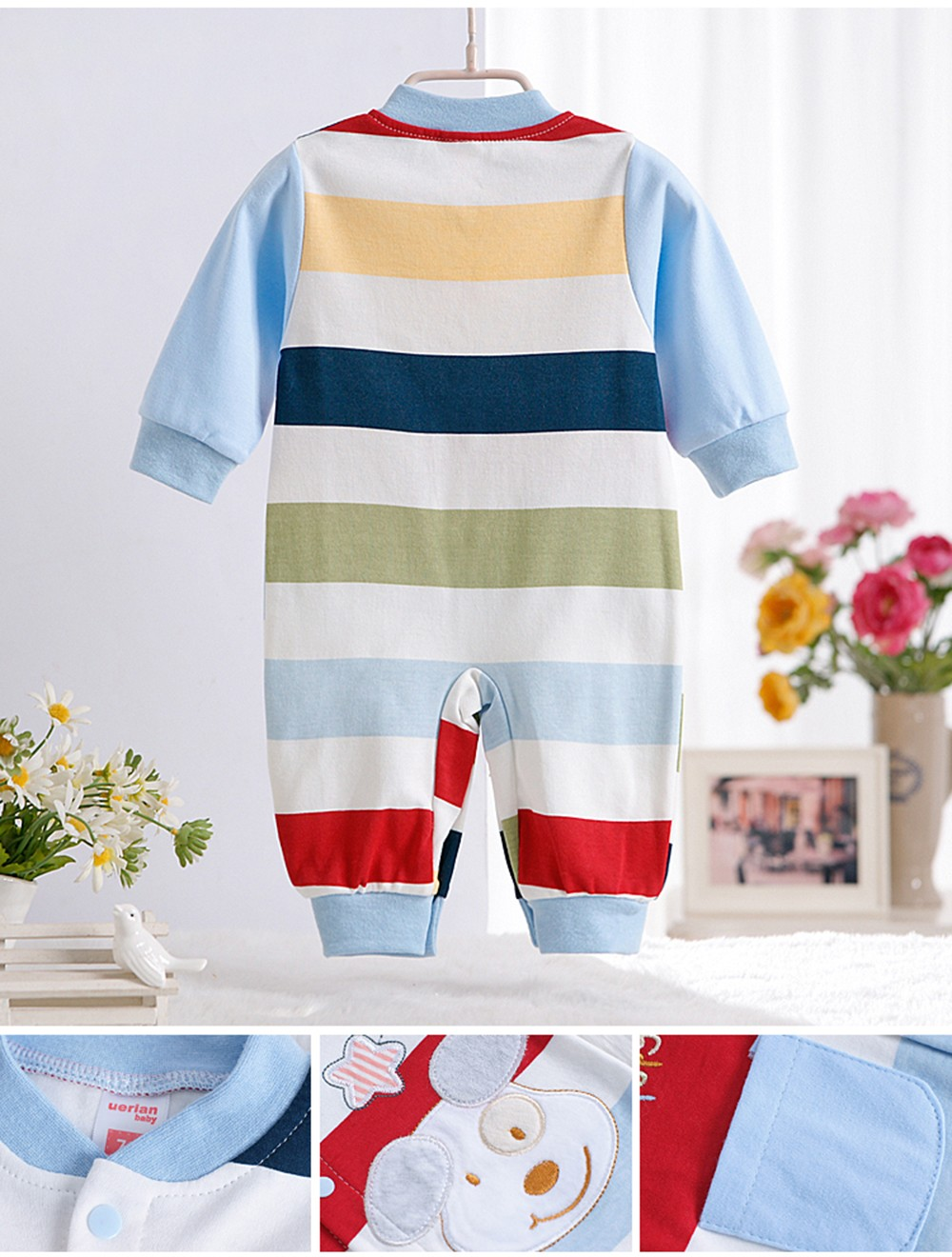 2016-New-Autumn-Newborn-Baby-Girls-Boy-Stripe-Rompers-One-Pieces-Long-Sleeve-Jumpsuits-Clothing-0-12months-CL0882  (6)
