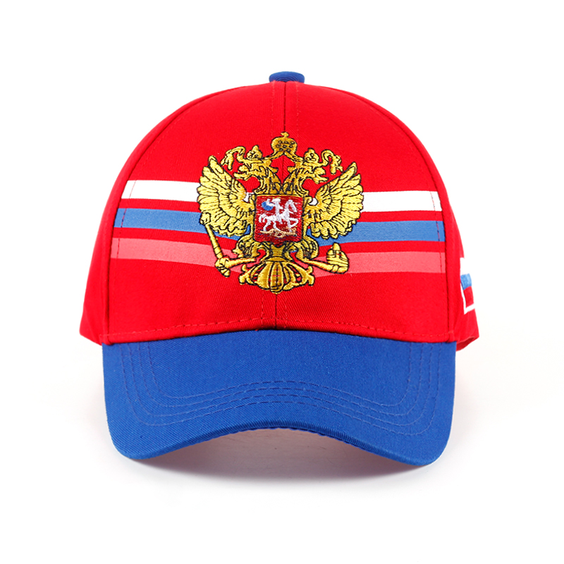 c3aa9dc3a7b Top Selling Unisex Cotton Baseball Cap With Golden Embroidery Russia Emblem  High Quality Fashion Snapback Baseball Hat Caps