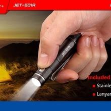 JETBeam E01R CREE XP-G2 138 Lumens USB Rechargeable Waterproof LED Flas