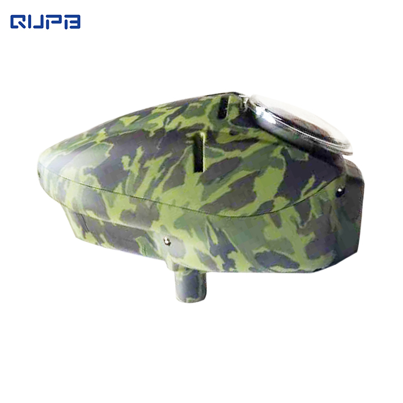 QUPB Paintball Electronic Halo Style Speed Loader 180 Rounds Full Automatic Hopper LGO001