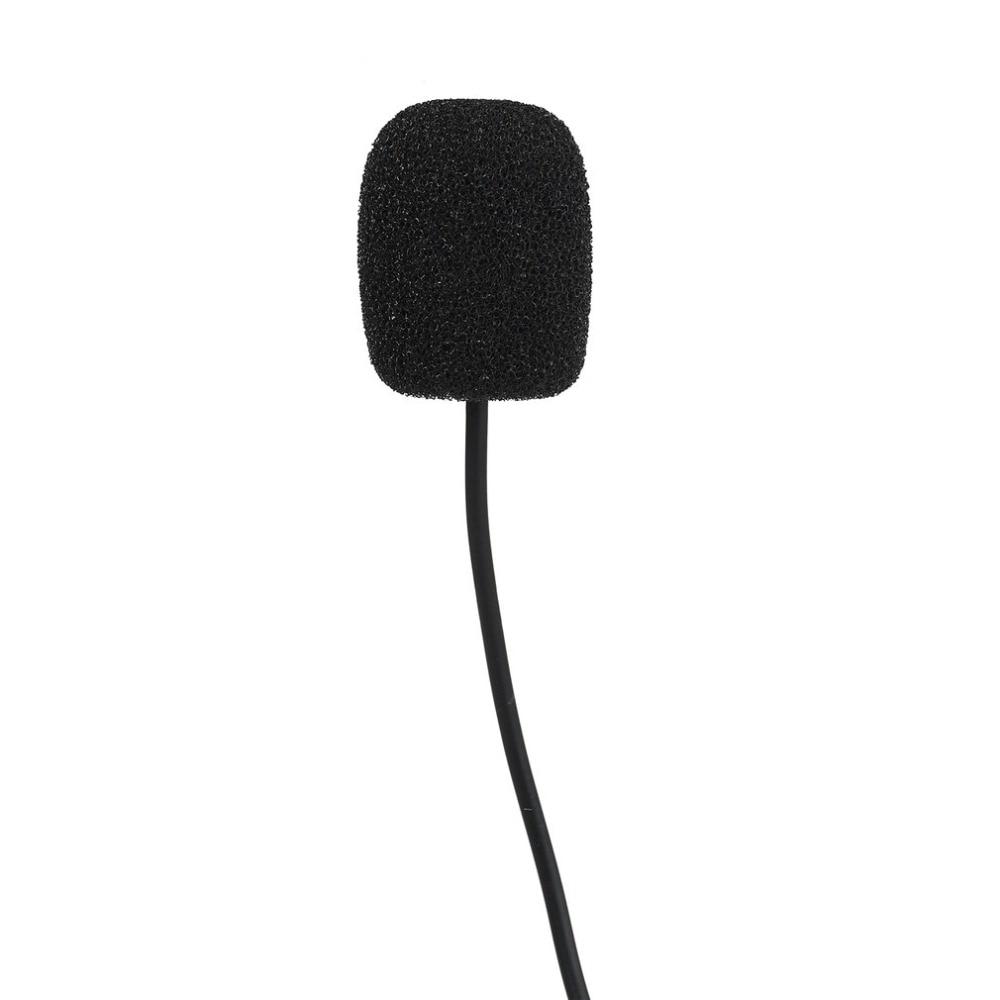 New 3.5mm Mini Studio Speech Mic Microphone w//Clip for PC Desktop Notebook