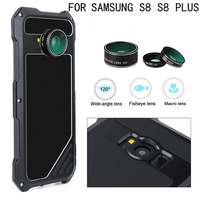 Metal Powerful Water Dirt Shock Poof Case For Samsung Galaxy S8 Case Aluminium Armor Cover With