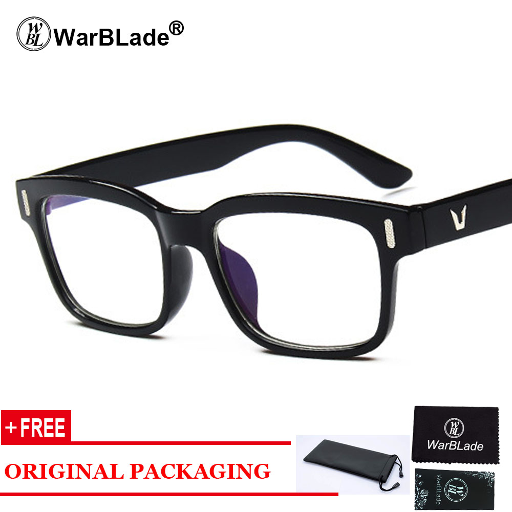 f205d3dec6 Montura de gafas rectangulares Retro montura óptica lente transparente gafas  negras leopardo cuadradas gafas monturas para hombres y mujeres
