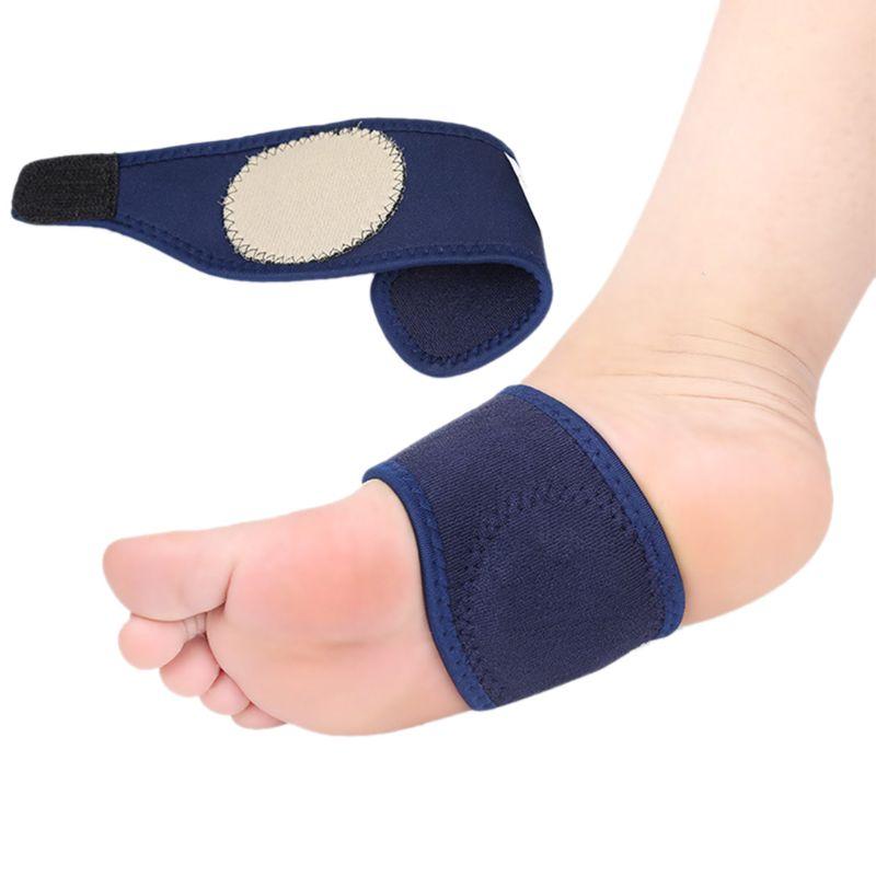 1 Para Arch Support Pads Schutzhülle Schutz Fuß Füße Sohle Schutz Elastische Schmerzen Relief Heels Kissen Strap Atmungs Brace
