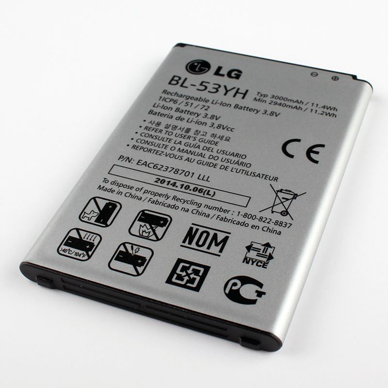 New Original LG BL 53YH Battery for LG Optimus G3 D830 D850 D851 D855 LS990 VS985