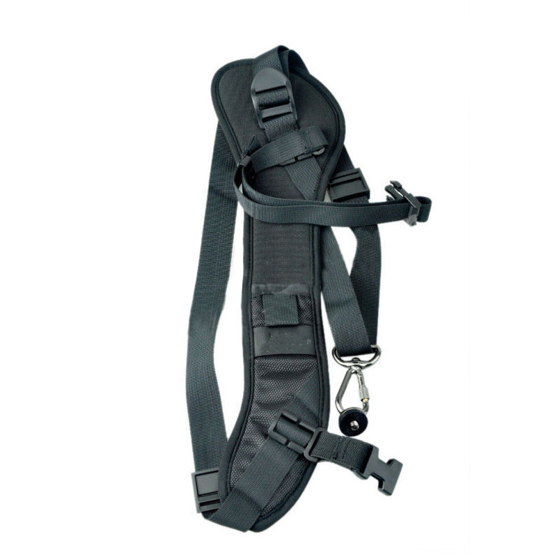 цена на Foucs F1 Quick Rapid Camera Single Shoulder Sling Black Strap For DSLR Camera 7D 5D Mark II D800 A77 60D