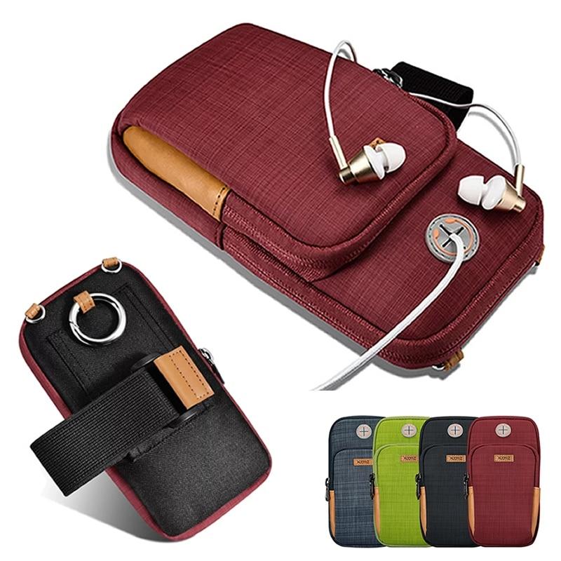 imágenes para Xoomz Deporte Running Arm Band Caja Del Teléfono Para el iphone 7 6 6 S Plus 5S Para Samsung S6 S7 S8 Borde Más Correr Paquete Bolsa Bolsa de P10