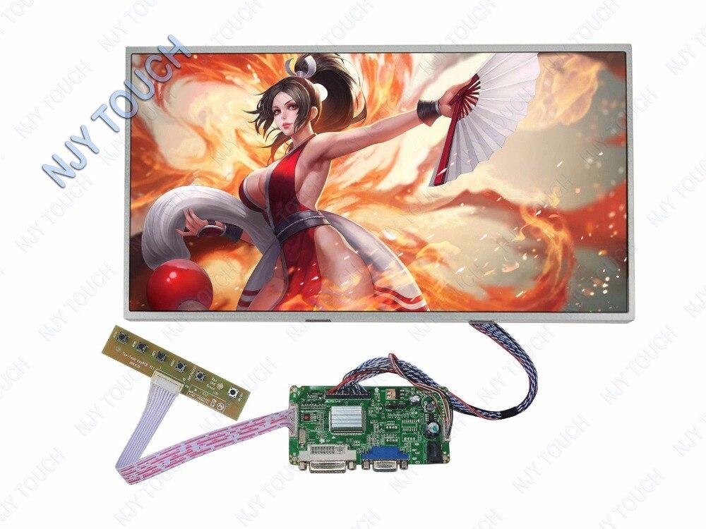 Новый 17,3 дюймовый LP173WD1 B173RW01 1600x900 светодиодный экран плюс DVI VGA ЖК драйвер платы комплект