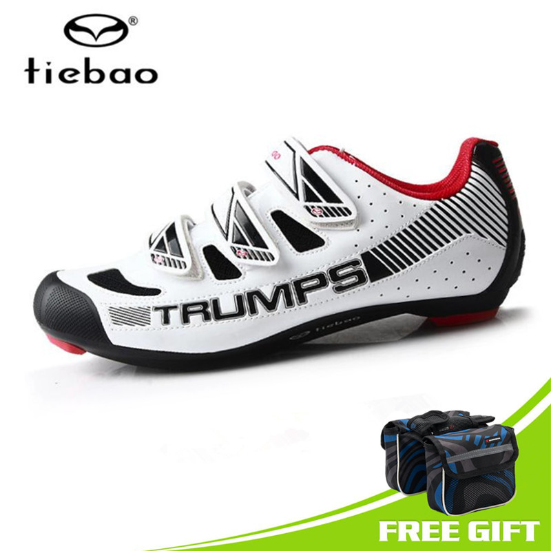 Tiebao Cycling Shoes Men 2018 Breathable Road Bike Sapatilha Ciclismo Triathlon zapatillas deportivas mujer Bicycle Shoes tiebao road cycling shoes 2016 zapatillas deportivas mujer hombre sapatilha ciclismo men sneakers women superstar outdoor shoes page 3