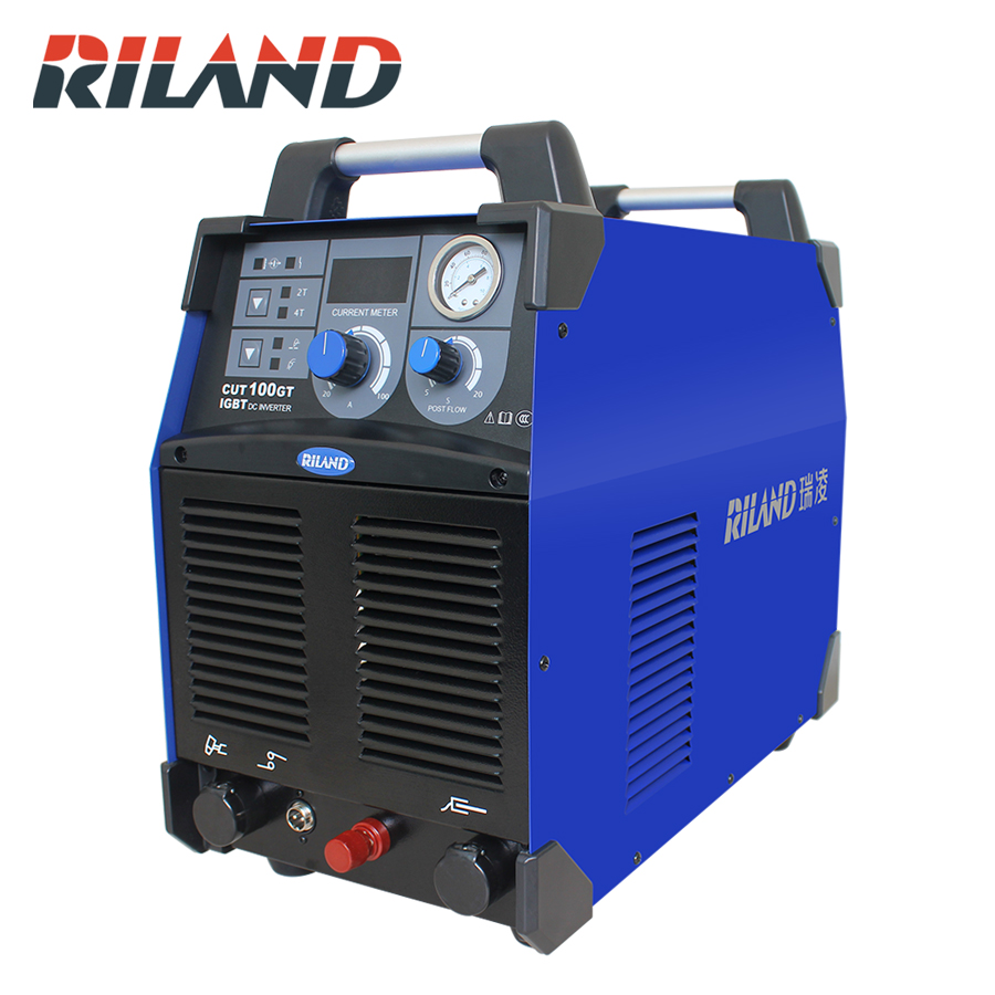 RILAND 380 V 3 P CUT100GT IGBT DC Inverter Plasma Cutter Air Plasma Schneiden Maschine Plasma Cutter Welder