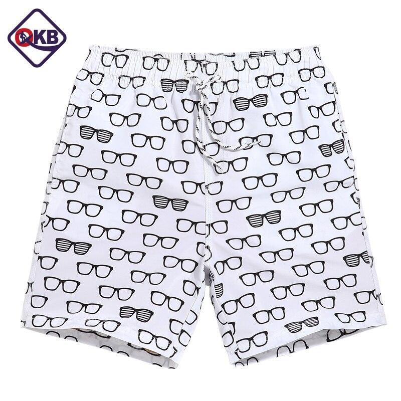 QIKERBONG Men Beach   Shorts     Board   Trunks Male Bermuda Casual Active Sweatpants Bottoms Quick Drying   Shorts