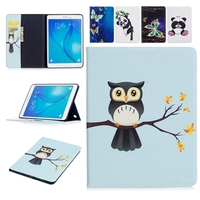For Samsung Galaxy Tab A 9 7 T550 Case Tablet Flip Cover Wallet Slim Fold Stand