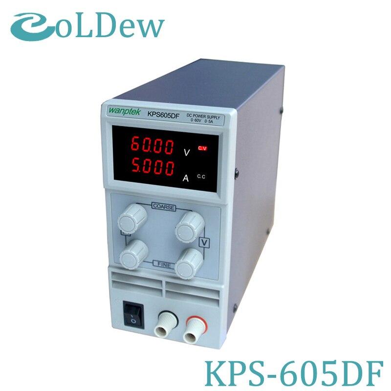 KPS605DF 0 60V 0 5A 110V 230V 0 1V 0 001A EU LED Digital Adjustable Switch