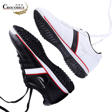 Crocodile Men Sneaker Shoe Running Shoes for Men's Athletic Leather Footwear Zapatilla Male Stable Jogging Sport Shoes off White