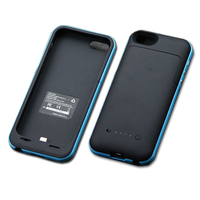 2200mAh External Backup Battery Pack Charger Back Cover Power Bank Case For IPhone 5 5S Rechargeable