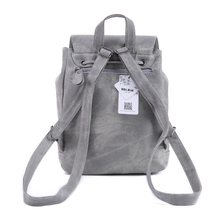 Women's Preppy Style PU Leather Backpack