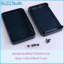 4 pcs/lot abs plastic enclosures for electronics abs  project box handheld enclosure 122x78x27 mm
