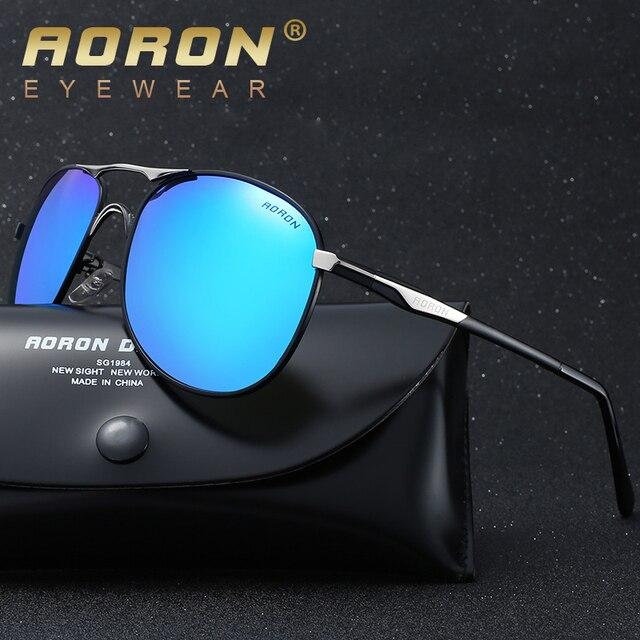 4f6d2a6ba AORON Brand Best Men's Sunglasses Polarized Mirror Lens Big Oversize  Eyewear Accessories Sun Glasses For Men/Women 8722