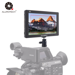 ALUMOTECH 4K 7 HDMI Full HD 1920x1200 DSLR Camera Video On-Camera Monitor &Hot Shoe Mount For Camera Video Studio Photography