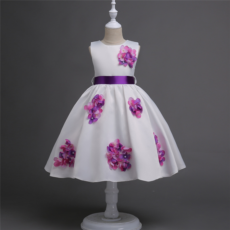 Kids Brand Dress Princess Clothes Girls Wedding Dress Formal Party Evening Gown Halloween Girl Costume Christmas Kids Clothing baby clothes little girl princess dress for christmas halloween party kids girls gown snow white alice gown cosplay vestioes