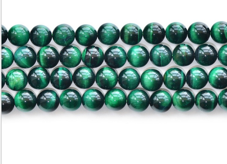 Free shipping Green Tiger Eye Bead 8mm 10mm 12mm Beads Jewelry Making Beading 3string