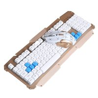 Hk1600 Wireless Keyboard And Mouse Set Home Office Metal Keyboard Wireless Keyboard Set 2.4 G Technology